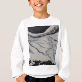 雪の道 スウェットシャツ