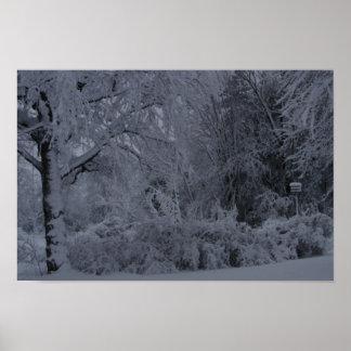 雪の雪の雪 ポスター