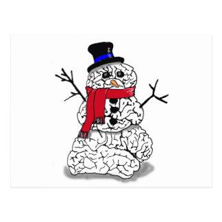 雪の頭脳 ポストカード
