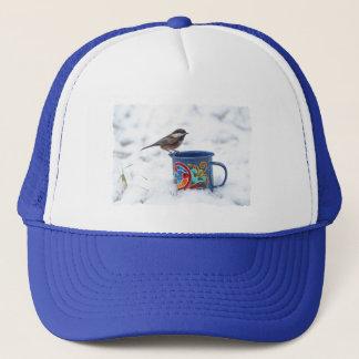 雪の《鳥》アメリカゴガラ キャップ