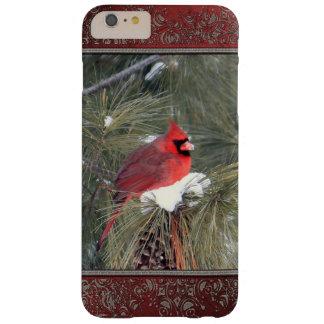 雪の(鳥)ショウジョウコウカンチョウ BARELY THERE iPhone 6 PLUS ケース