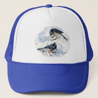雪のBlue Jays キャップ