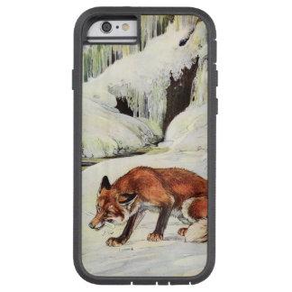雪のiPhoneの場合の劇的な孤 Tough Xtreme iPhone 6 ケース