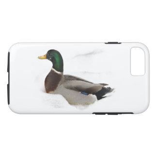 雪のiPhone 7の場合のアヒル iPhone 8/7ケース