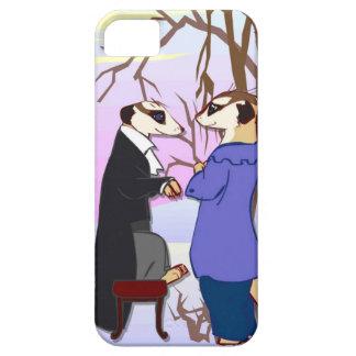雪のMeerkatの会合 iPhone SE/5/5s ケース