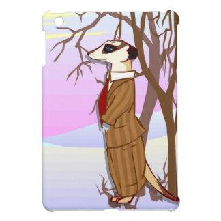 雪のMeerkat家族 iPad Miniケース