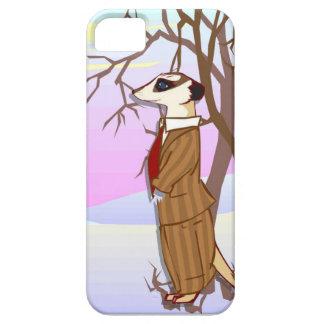 雪のMeerkat iPhone SE/5/5s ケース