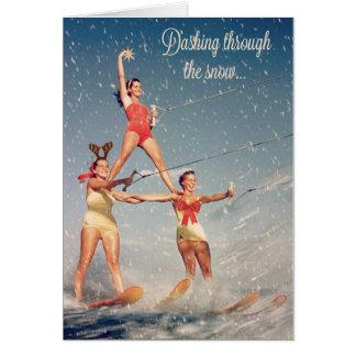 雪を通って紛砕! カード