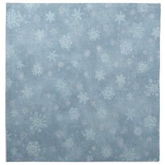 雪ショーの青 ナプキンクロス