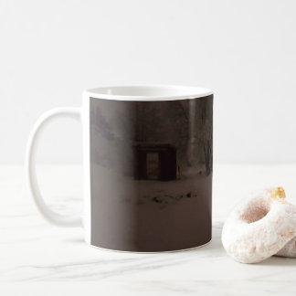 雪場面マグ コーヒーマグカップ