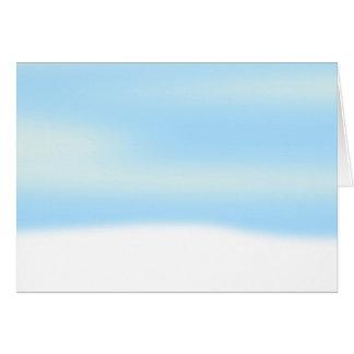 雪場面背景 カード