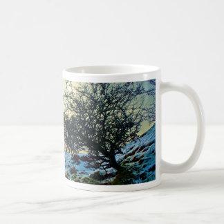 雪場面 コーヒーマグカップ