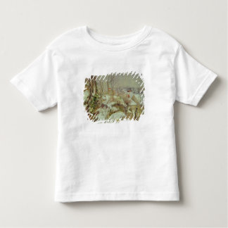 雪場面 トドラーTシャツ