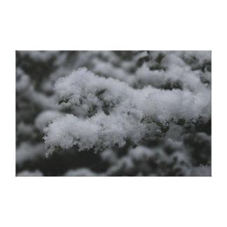 雪日 キャンバスプリント