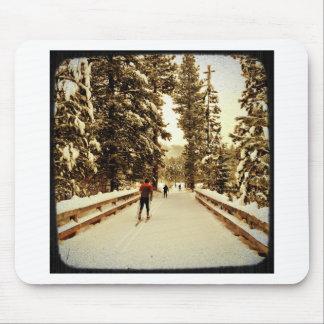 雪橋 マウスパッド