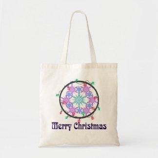 雪片とのメリークリスマス トートバッグ