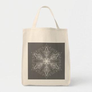雪片のバッグ トートバッグ