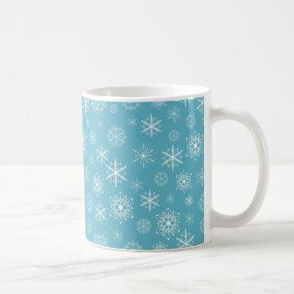 雪片のマグ コーヒーマグカップ