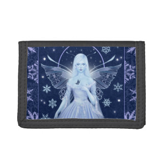 雪片の妖精の三つ折り財布