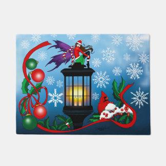 雪片の妖精 ドアマット