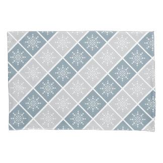 雪片の枕カバー 枕カバー