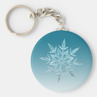 雪片の水晶 キーホルダー
