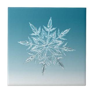 雪片の水晶 タイル