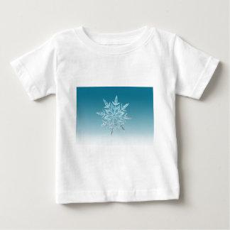 雪片の水晶 ベビーTシャツ