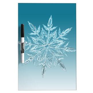 雪片の水晶 ホワイトボード