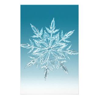 雪片の水晶 便箋
