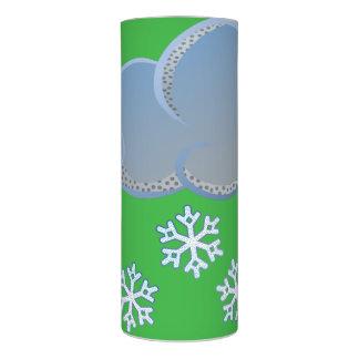 雪片の蝋燭 LEDキャンドル