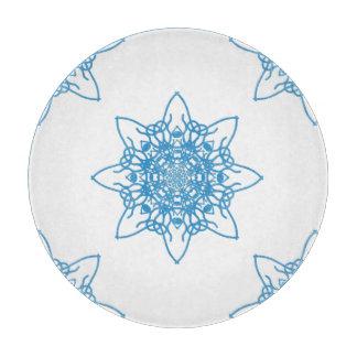 雪片の青 カッティングボード