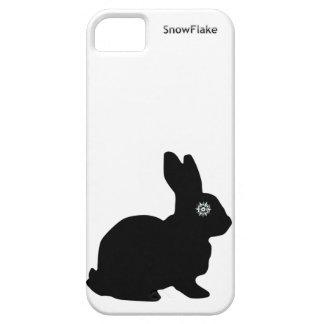 雪片のIphone 5の場合 iPhone SE/5/5s ケース