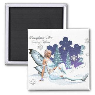 雪片は妖精のキスの磁石です マグネット