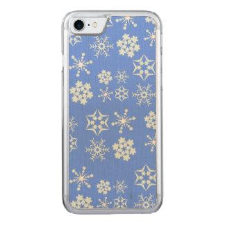 雪片パターン CARVED iPhone 7 ケース