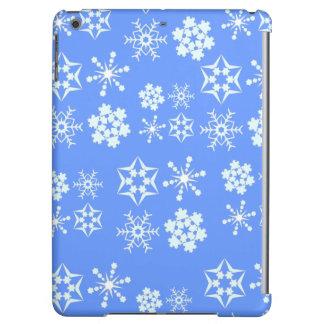 雪片パターン iPad AIRケース