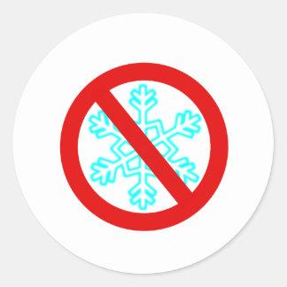 雪片無し ラウンドシール