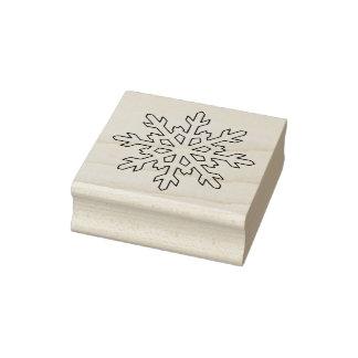 雪片5のクリスマスのゴム印 ラバースタンプ