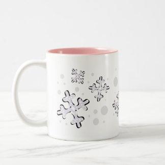 雪片 ツートーンマグカップ