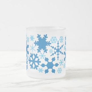雪片 フロストグラスマグカップ