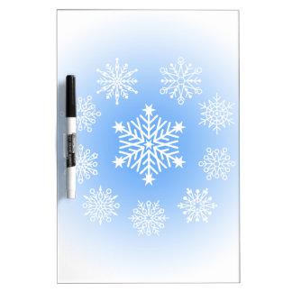雪片 ホワイトボード