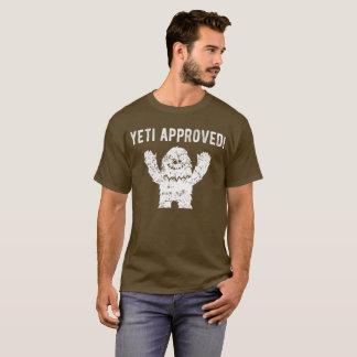 雪男の公認のおもしろいなビッグフットのTシャツ Tシャツ