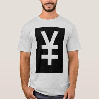 雪男の白のティー Tシャツ
