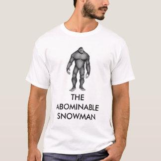 雪男のTシャツ Tシャツ