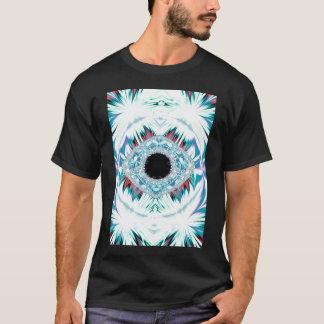 雪男及び神聖な目 Tシャツ