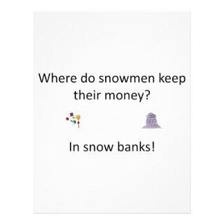 雪銀行冗談 レターヘッド