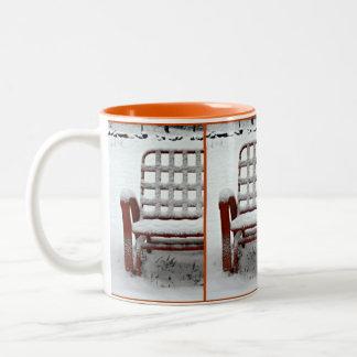 雪4 ツートーンマグカップ