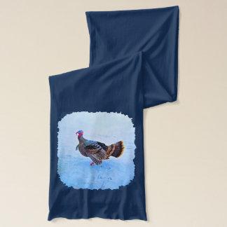 雪5のトルコ スカーフ