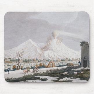 雪、「カンピPhlegraeiからのプレートVのVesuvius: O マウスパッド