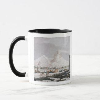 雪、「カンピPhlegraeiからのプレートVのVesuvius: O マグカップ